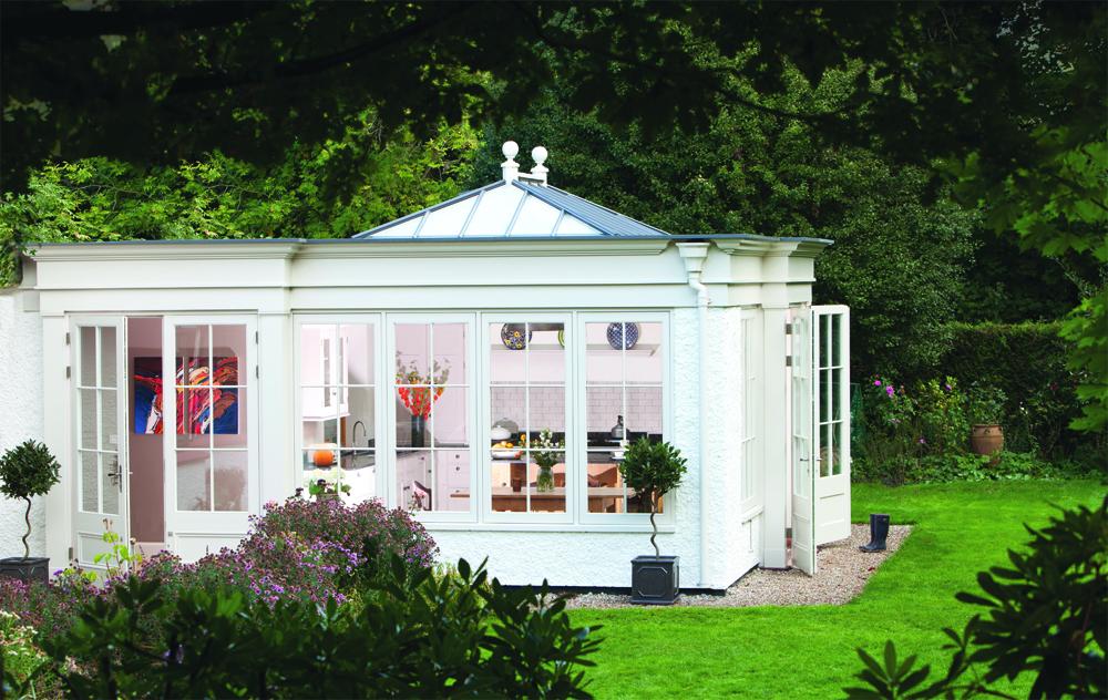 Garden room extension by Westbury