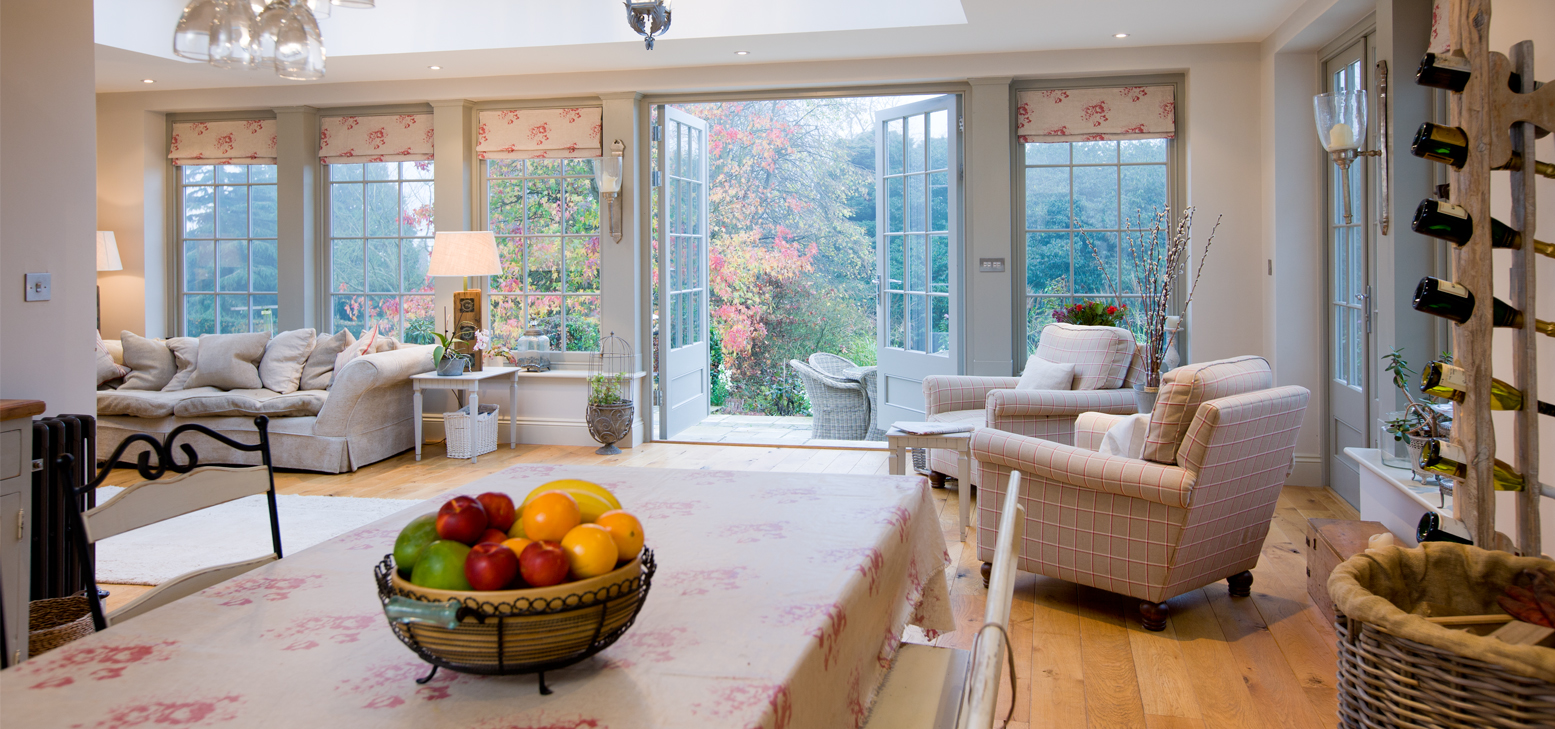 beautiful orangery interior