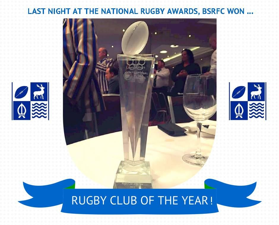 BSRFC club of the year trophy