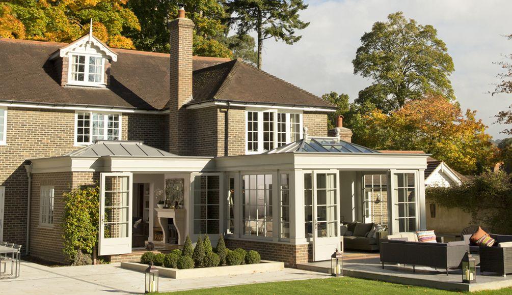 Rear view - garden room extension