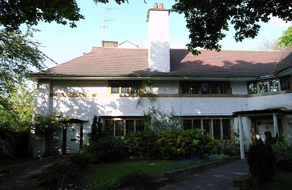 Voysey architecture - annesley lodge