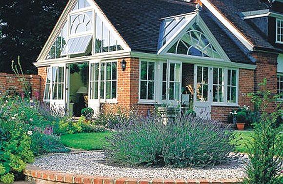 Westbury garden room in a beautiful garden
