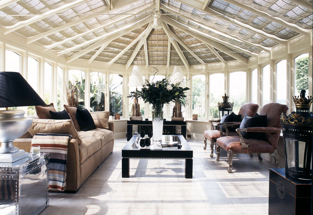 Light and airy conservatory
