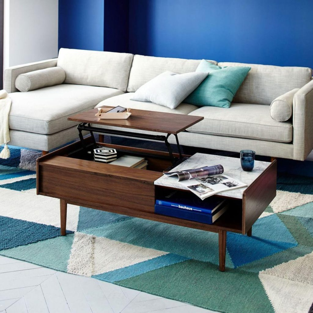 Coffee table from West Elm