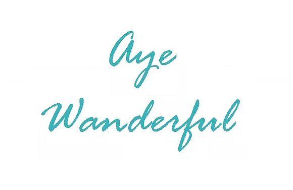 Aye Wanderful logo