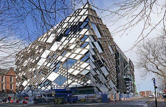 The Diamond building in Sheffield