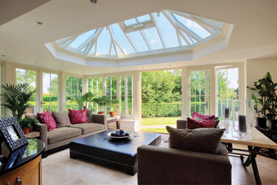 Lovely roof lantern