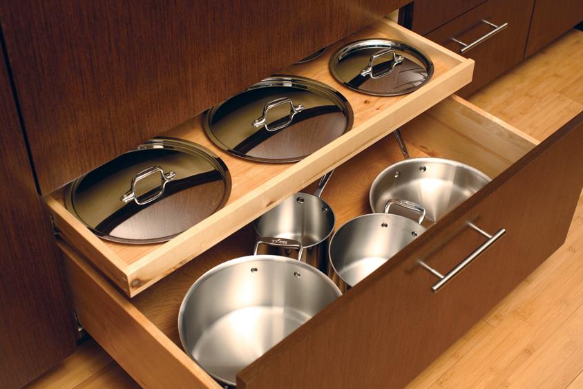 deep pan drawers - storage solutions