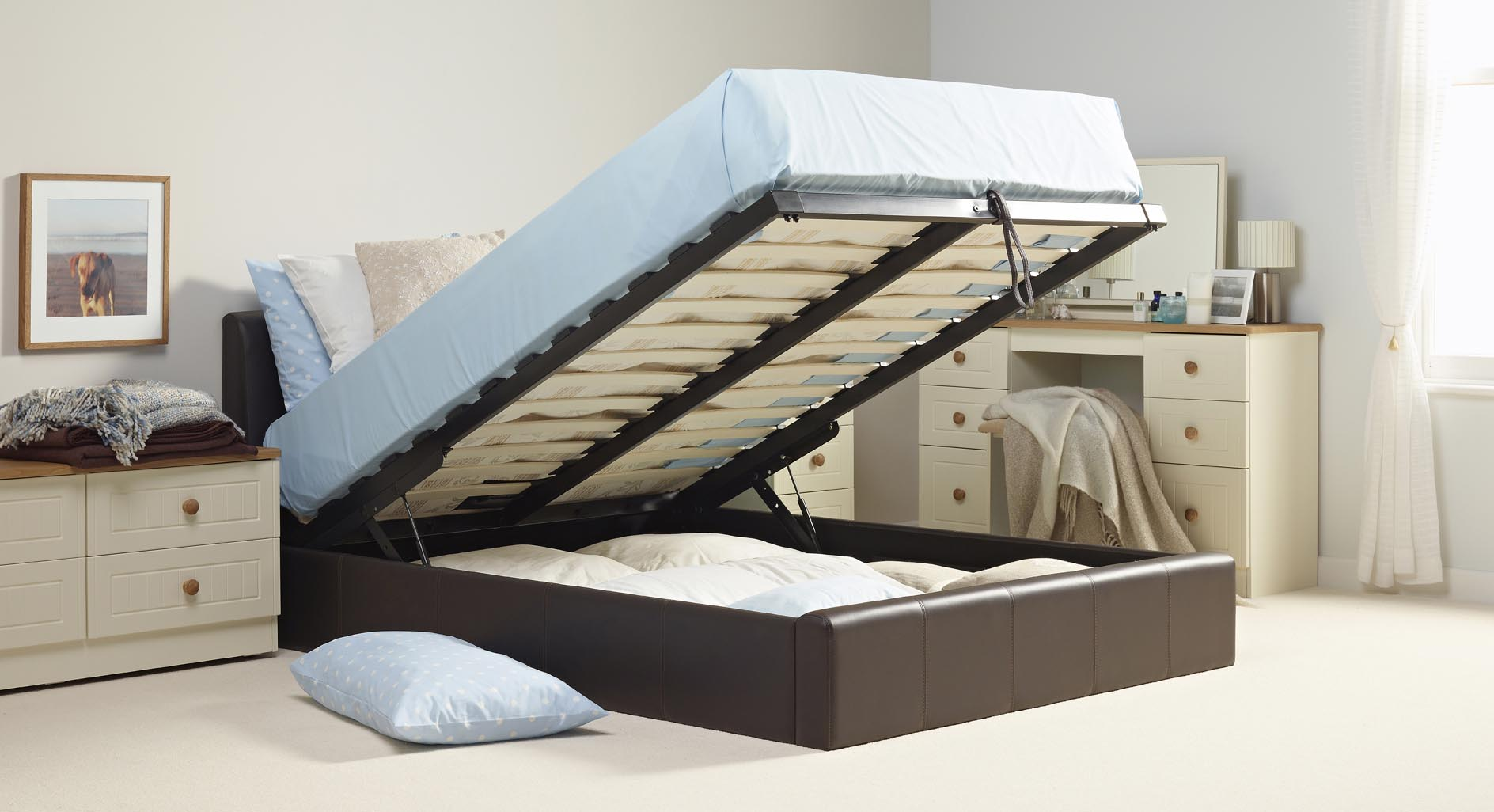 Double Bed With Storage Underneath Nz