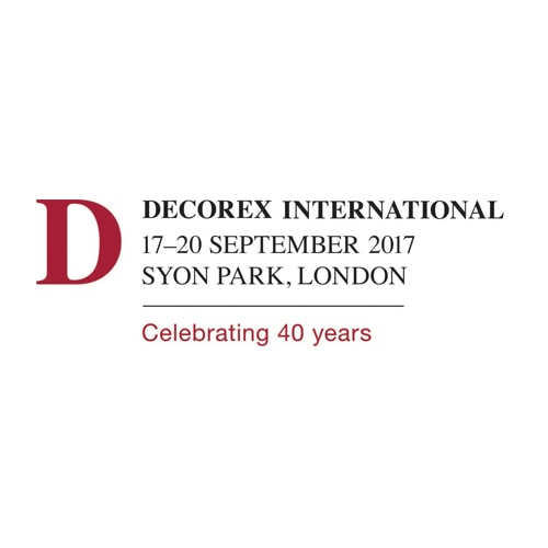 Decorex announces 2017 exhibitors