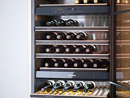 miele wine storage advice