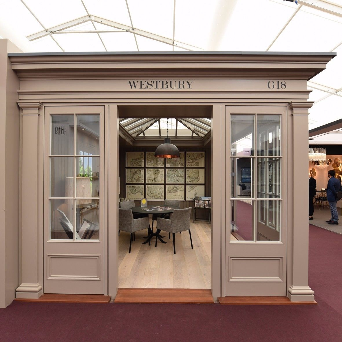 Westbury Garden Rooms: Westbury Awarded Prize For Excellence At Decorex 2017