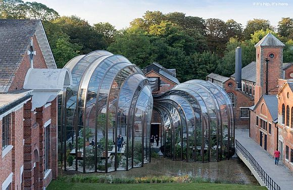 Bombay Sapphire Distillery buildings