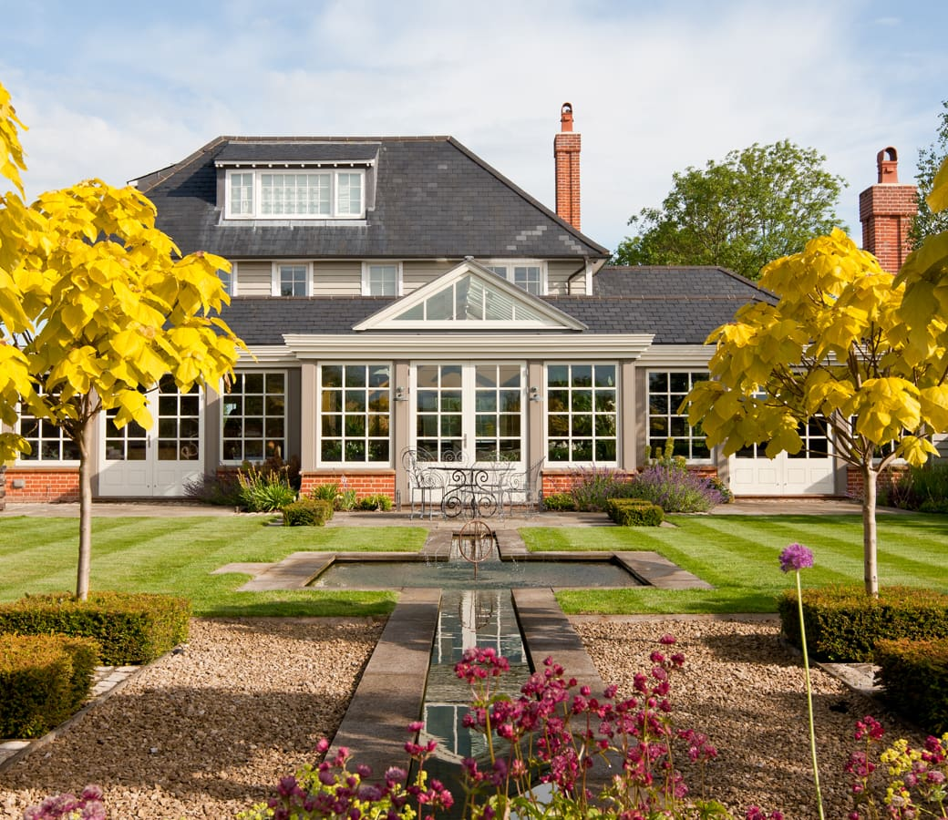 Westbury Garden Rooms: Glass Garden Room In Essex