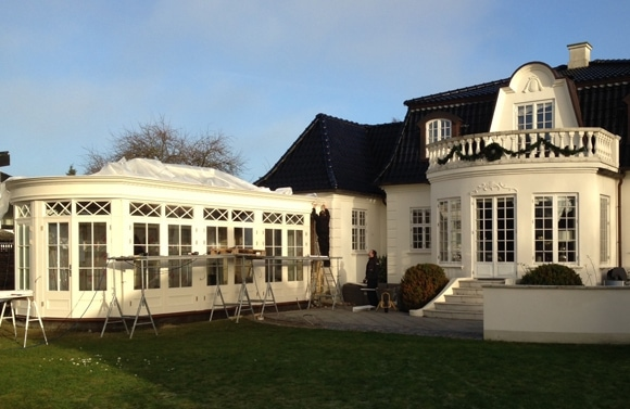 Westbury Garden Rooms begins new orangery project in Denmark