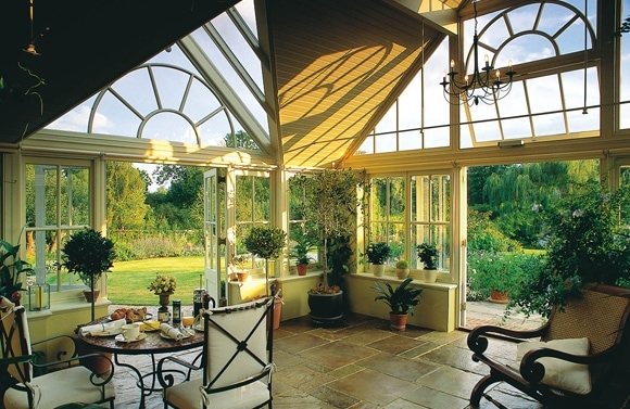 Adding value to your property with a conservatory