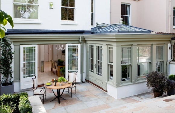 Repainting your Garden room