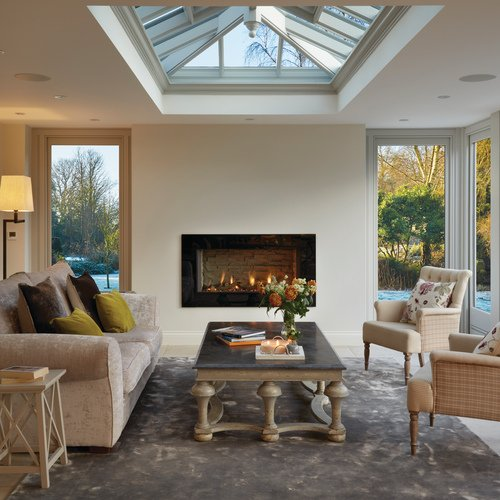 Orangery with Fireplace