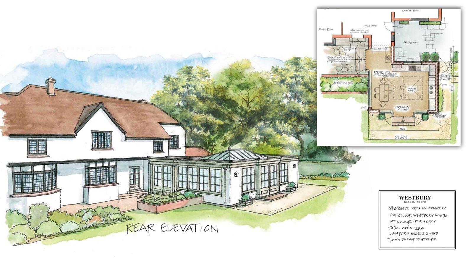Design Drawing Bishops Stortford