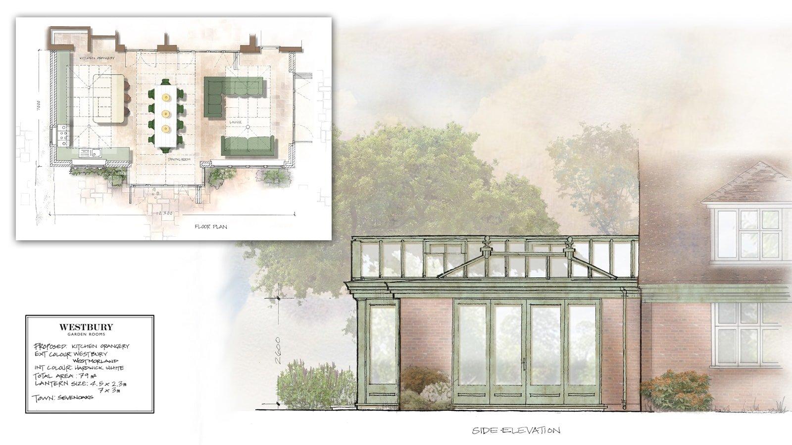Design Drawing Sevenoaks