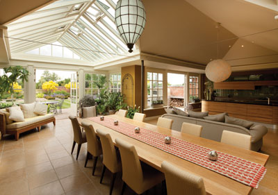 Designing the perfect garden room