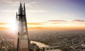 View of the Shard in London