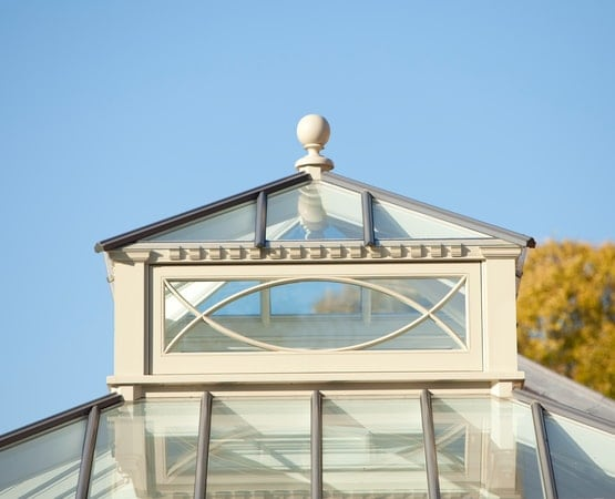 Two-tier roof lantern