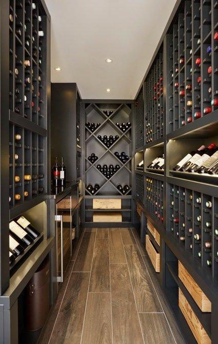 Orangery featuring fantastic bespoke wine store