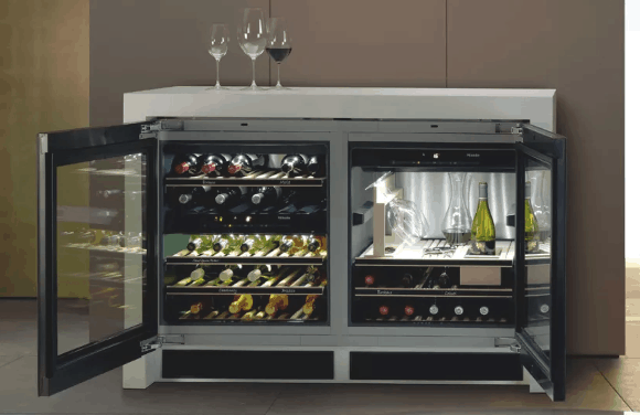 miele wine storage fridge feature