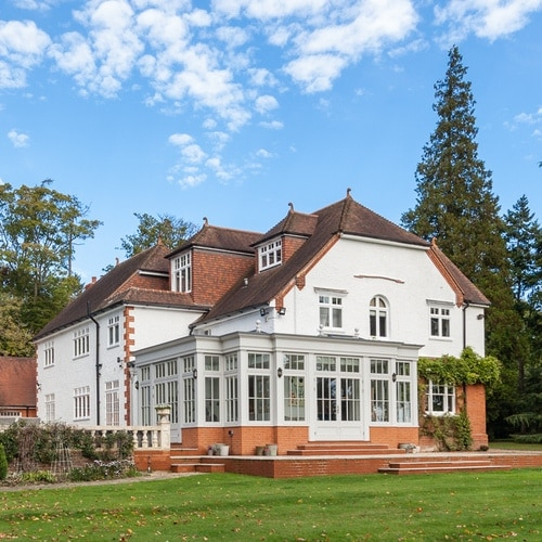 Fantastic orangery added to a home in Hertfordshire