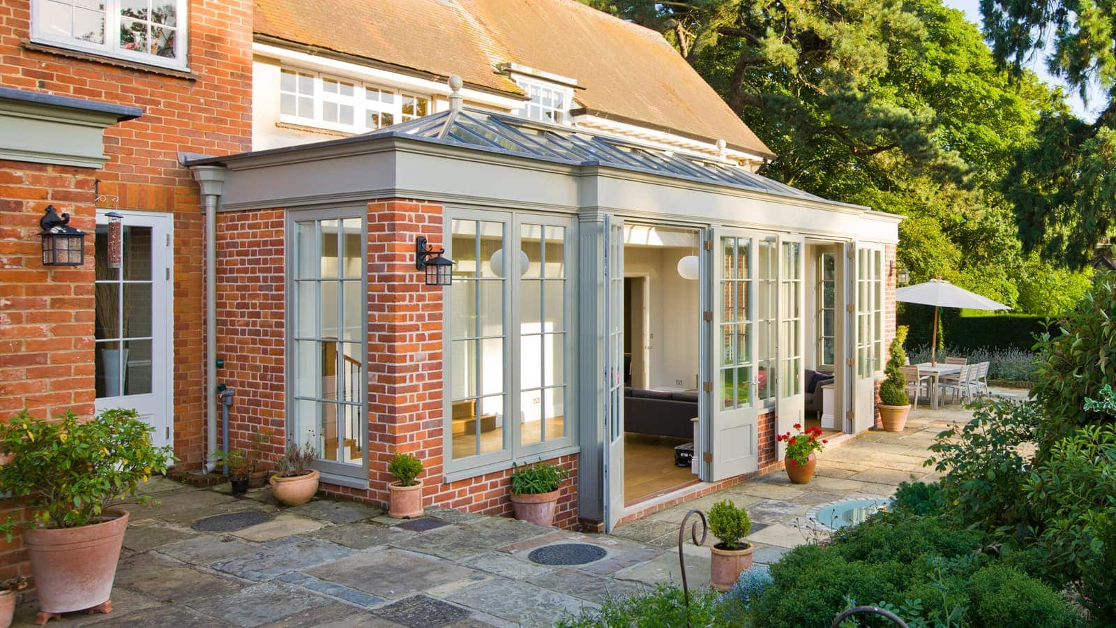 Large Wooden Garden Rooms: Large Wooden Orangery In Suffolk