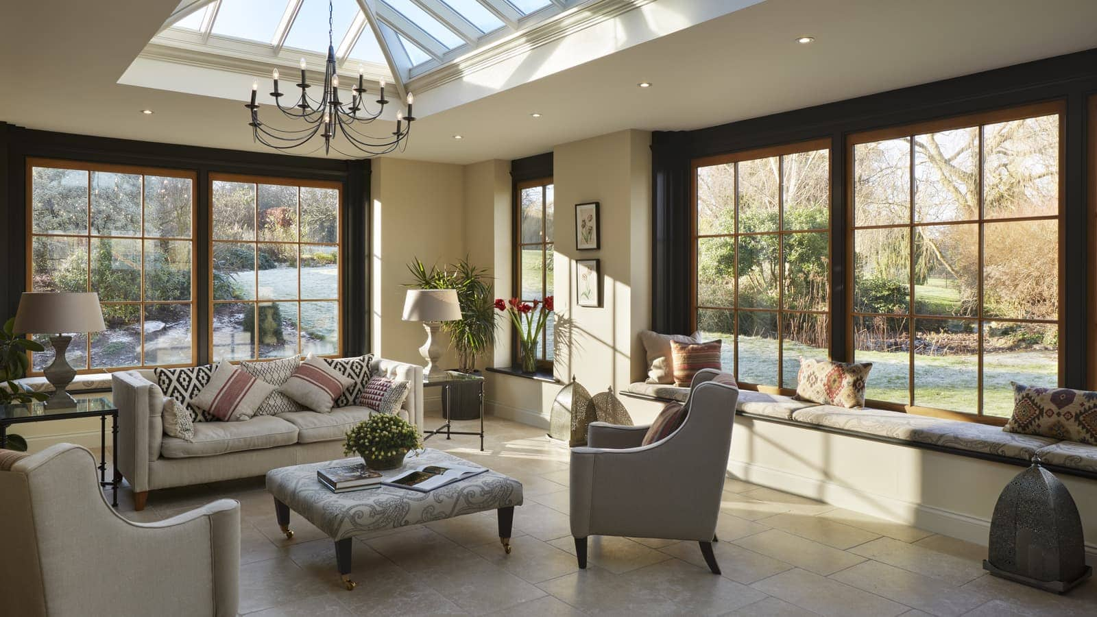 Client Testimonial: A characterful reading room orangery