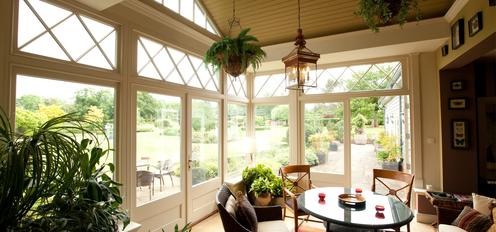 Best summer houseplants for your garden room extensions and orangeries