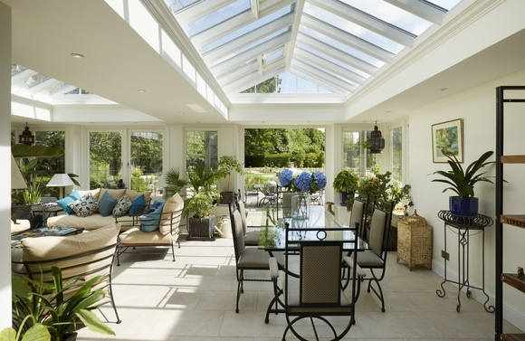 Maximise light and space - Roof lanterns light the way