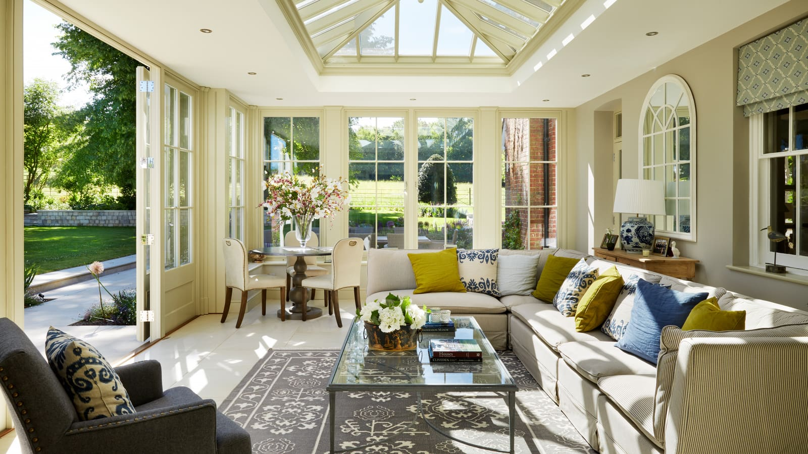 Orangery Extension on Victorian Home Refurbishment