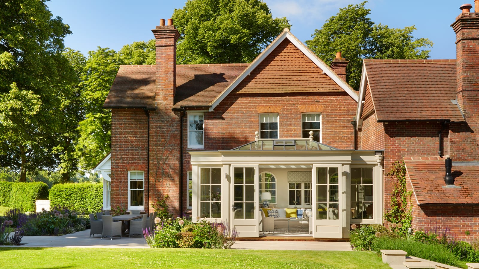 victorian property country timber orangery extension