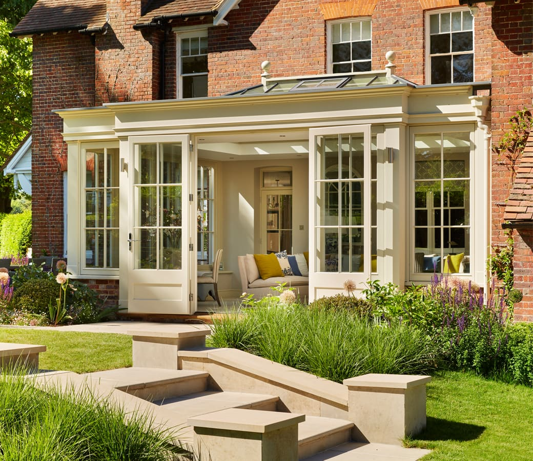 Orangery Extension On Victorian Home Refurbishment