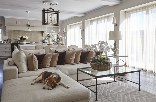 OKA kitchen living room interior design
