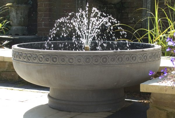 Romanesque water feature