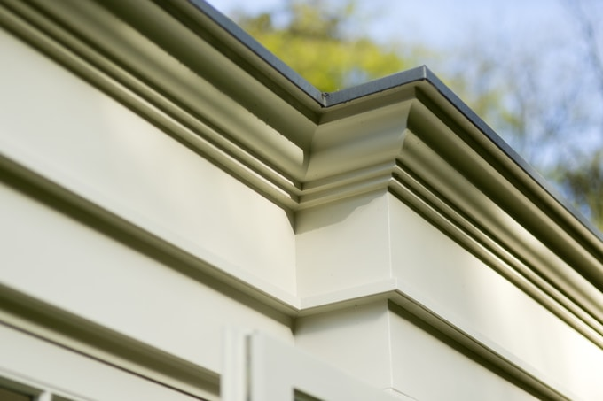 garden room maintenance check list - roof capping