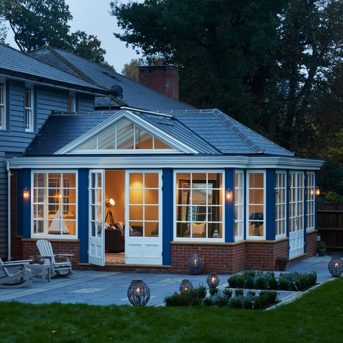 A New England Garden Room