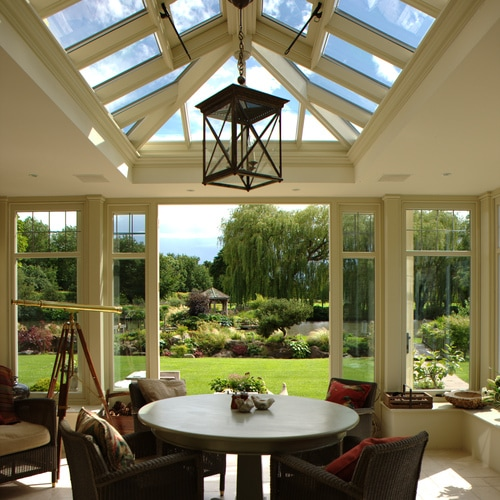 Orangery with Garden View