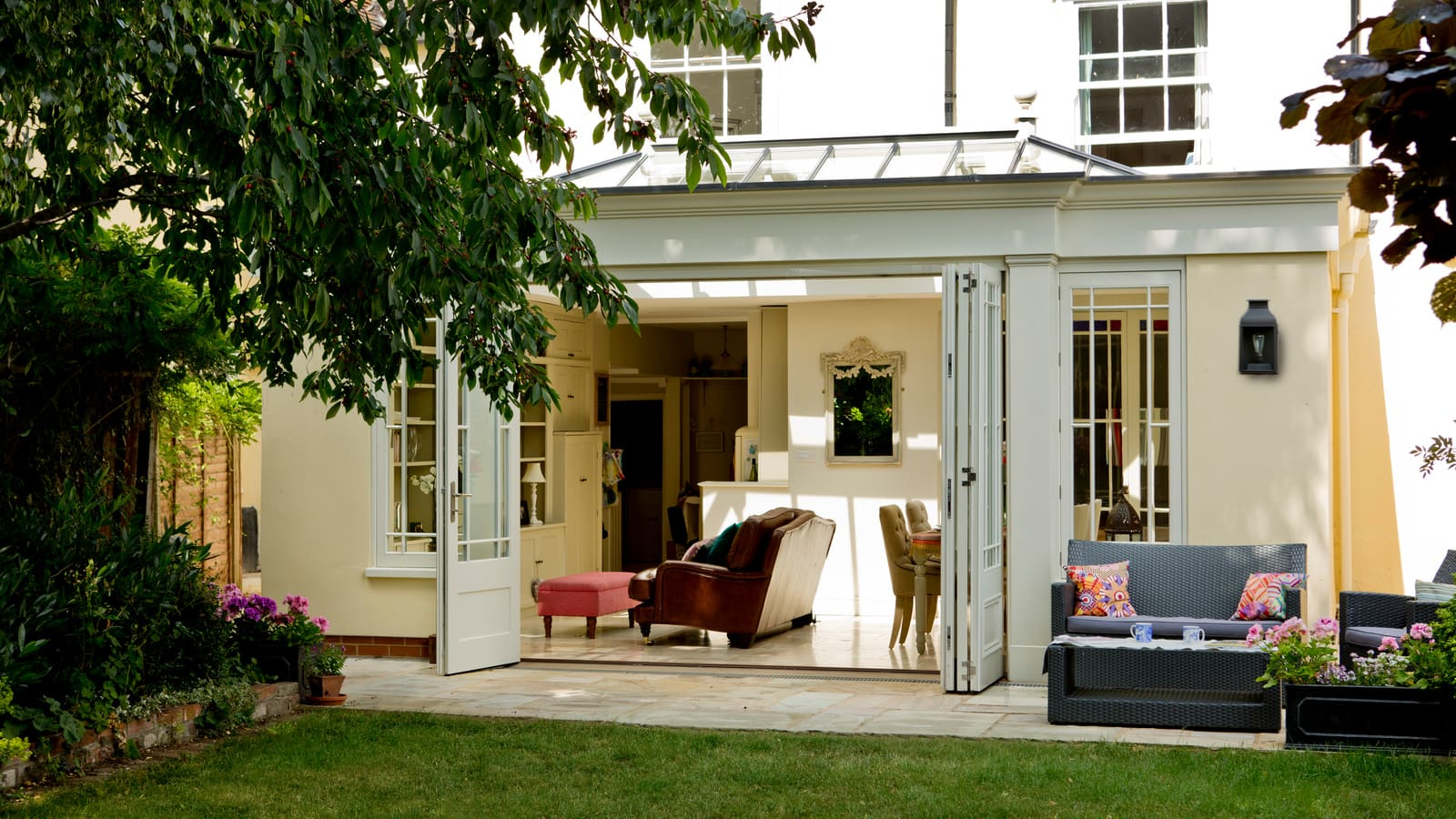 External View of Orangery from the garden