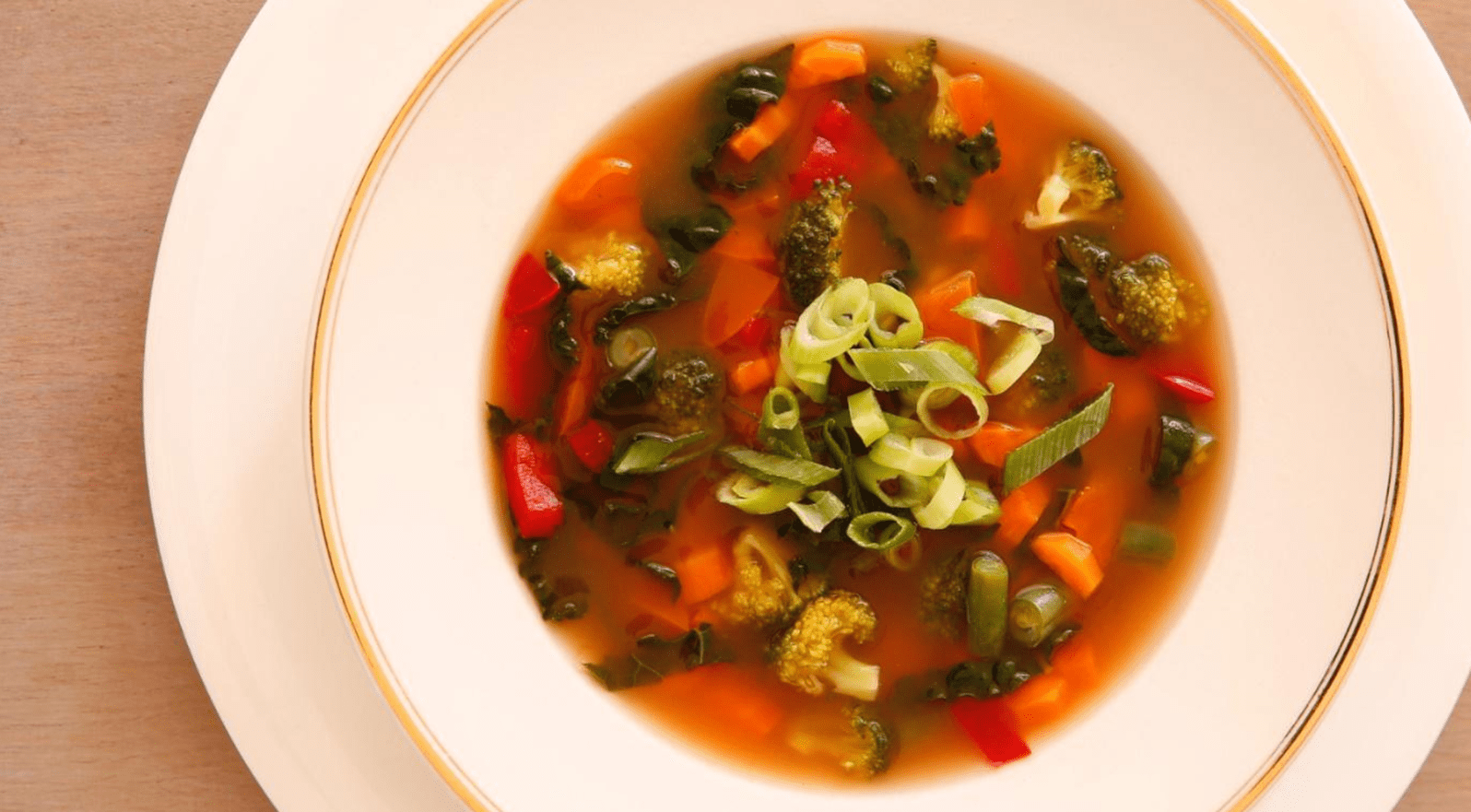 Pauline's New Year Vegetable Soup