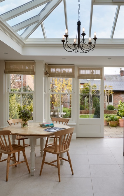 Kitchen Orangery with Dining Area