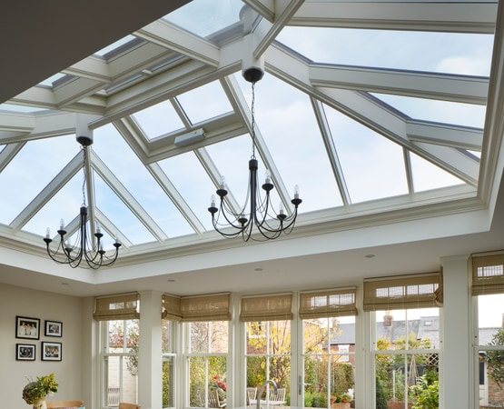 Close up or Orangery Roof Lantern