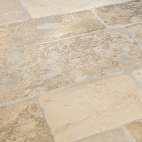 Medieval-Mâcon-Limestone-Weathered-Stone-Floor-Tiles