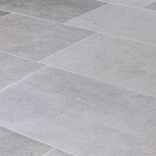 Regis Blue Limestone Satino Stone Floor Tile