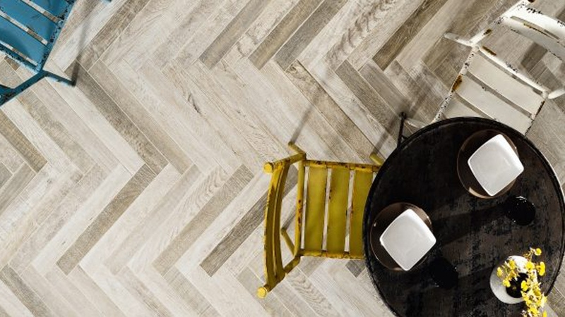 Lulworth Fair Porcelain Matt flooring - man-made porcelain tiles are known for being a lightweight alternative to natural stone.