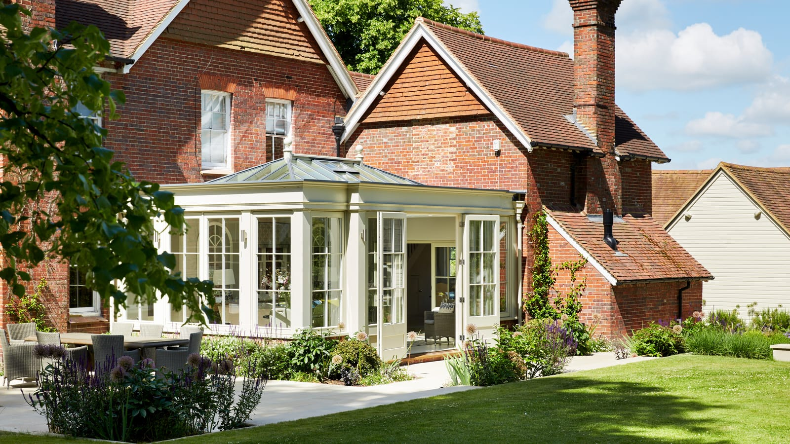 Client testimonial: Victorian orangery perfect for family entertaining